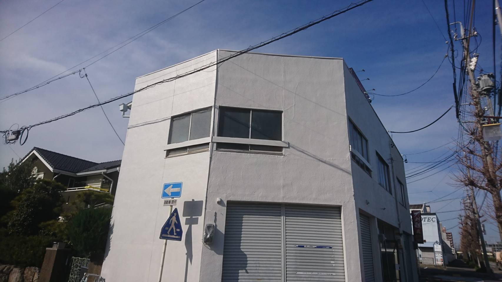 勢子前 名古屋市熱田区法人店舗外壁塗替え工事