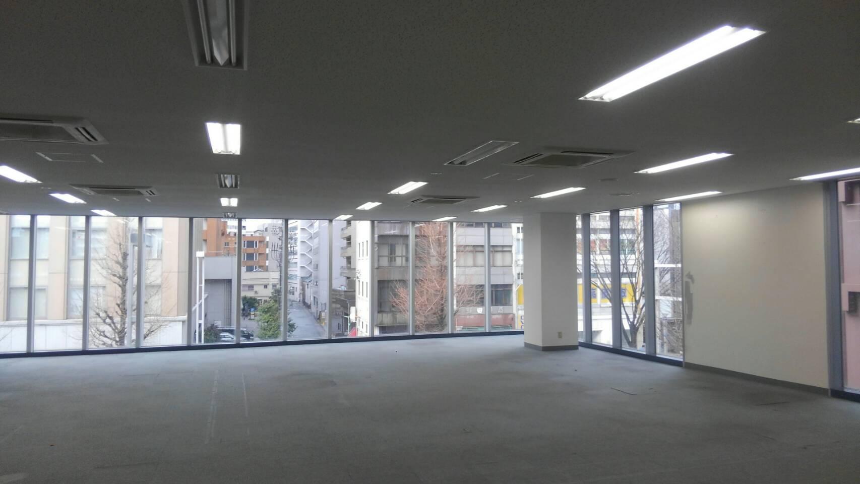 原状回復塗装 名古屋市中村区 法人貸オフィス原状回復工事
