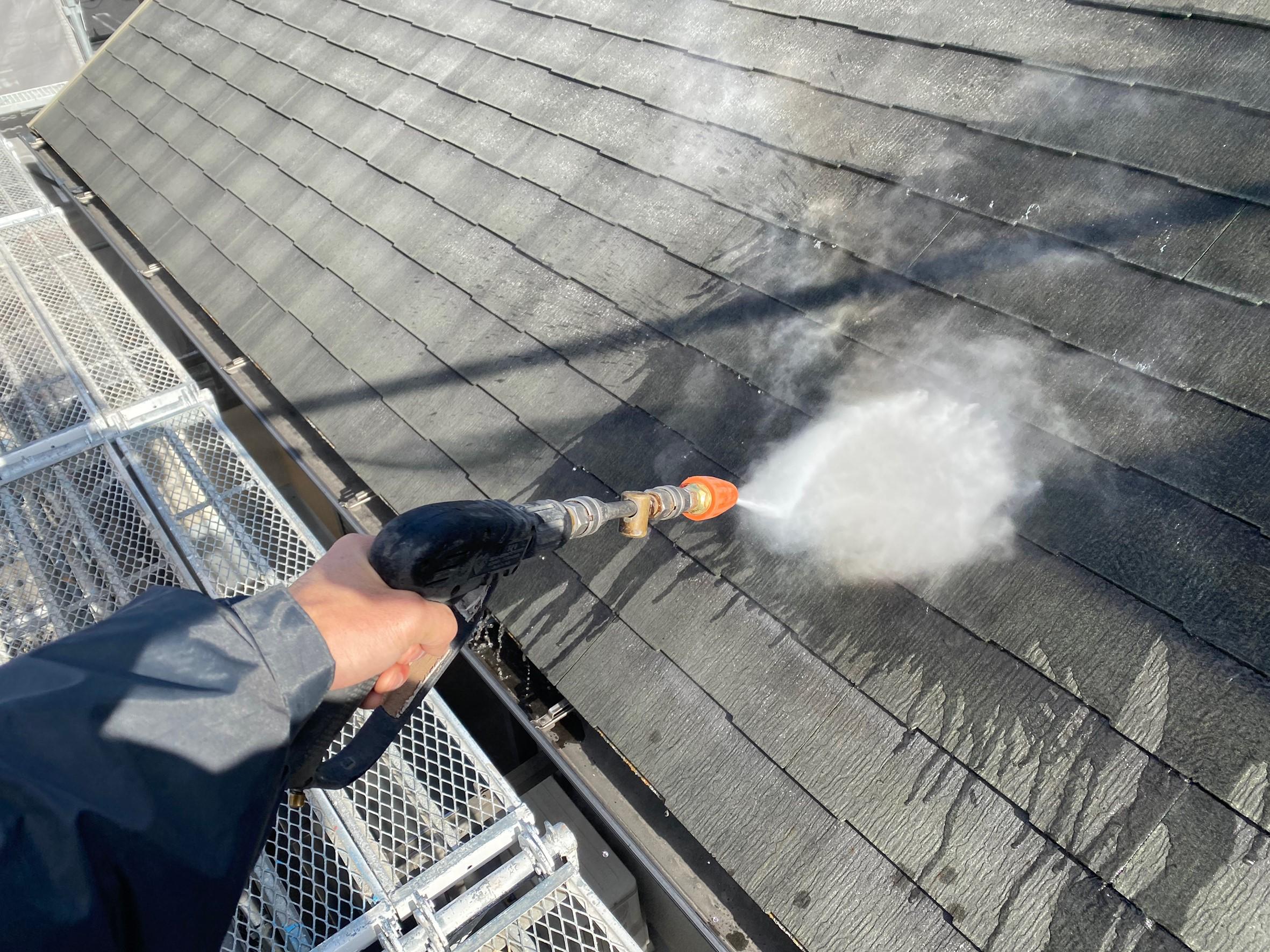 名古屋市緑区住宅遮熱屋根塗替え工事