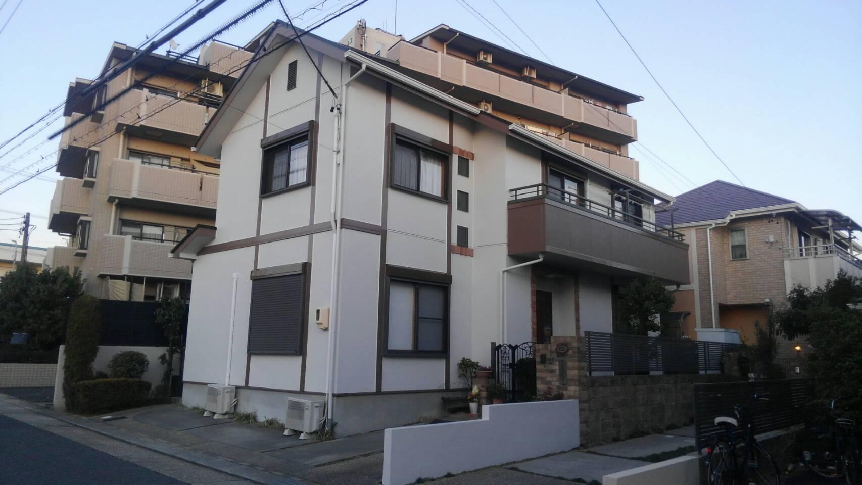 塗装後名古屋市緑区住宅遮熱屋根塗替え工事